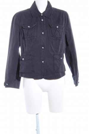 Blue Willi's Kurzjacke lila Casual-Look