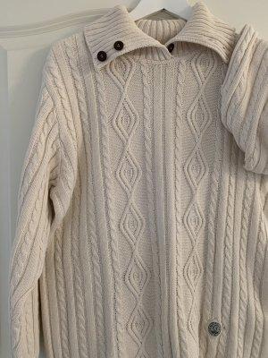Blue Willi's Sweter z dzianiny w kolorze białej wełny