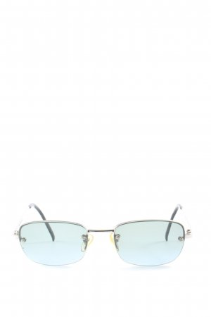 Bluebay Angular Shaped Sunglasses blue casual look