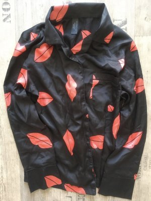 Bluebella Pyjama black-brick red