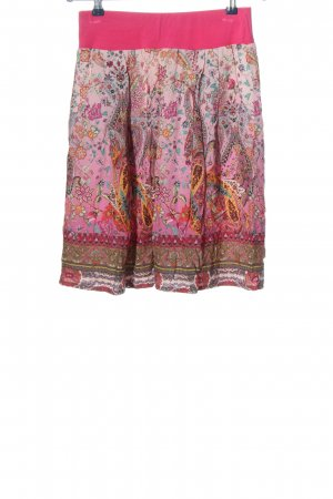 Blueberry Flared Skirt allover print casual look