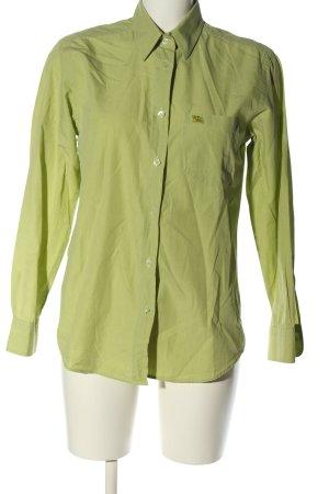 Blueberry Long Sleeve Shirt green casual look