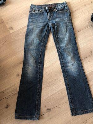 bluefire Low Rise Jeans blue