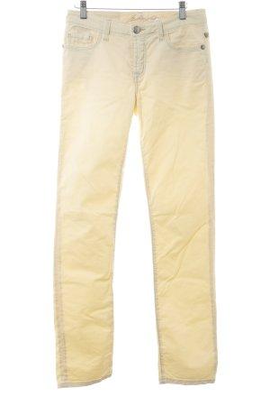 bluefire Jersey Pants primrose Logo application