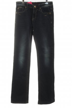 bluefire Straight-Leg Jeans schwarz Casual-Look