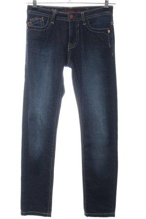 bluefire Straight-Leg Jeans blau Casual-Look