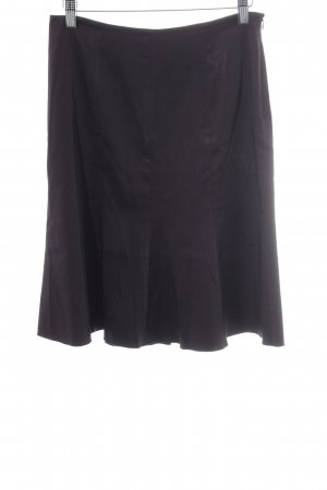 Bluegirl Asymmetry Skirt dark brown casual look
