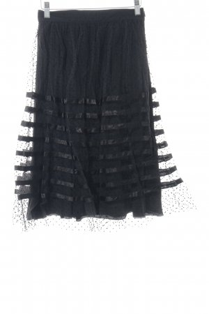 Bluegirl Tulle Skirt black spot pattern elegant