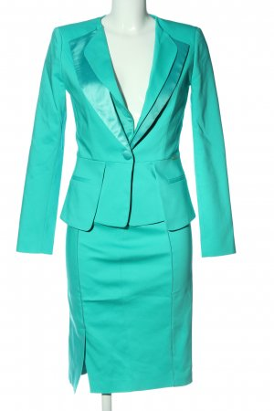 Bluemarine Tailleur turquoise style d'affaires