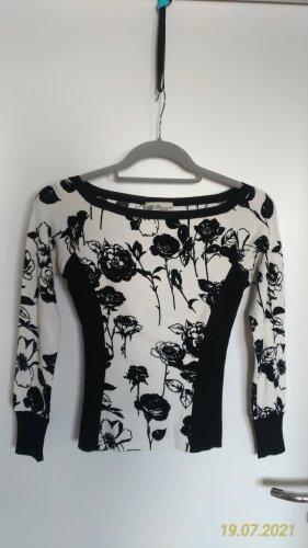 Bluemarine Shirt - Schwarz - Weiß