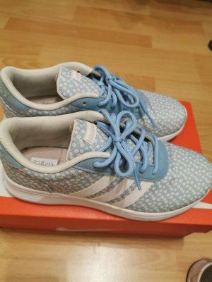 Adidas Sznurowane trampki jasnoniebieski