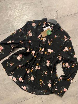 blümchen bluse neu mit etikett c&a gr 42