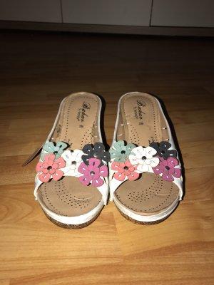 Vintage Sandalo comodo bianco