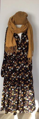 Blümchenkleid aus Viskose Gr 38