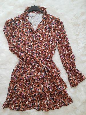 Flounce Dress multicolored