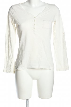 Bluemotion Longsleeve white casual look