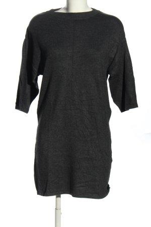 Bluemotion Shirtkleid hellgrau meliert Casual-Look