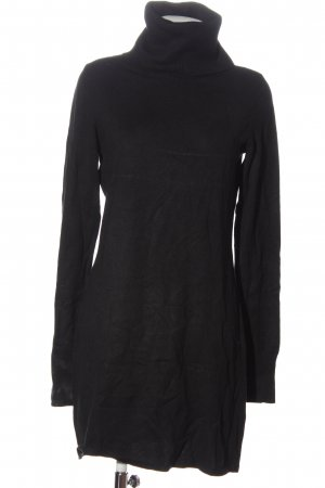 Bluemotion Knitted Dress black casual look