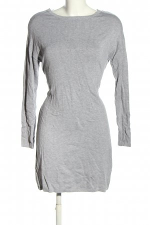 Bluemotion Knitted Dress light grey flecked casual look