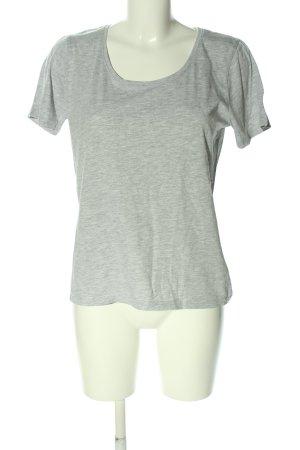 Bluemotion T-Shirt hellgrau meliert Casual-Look