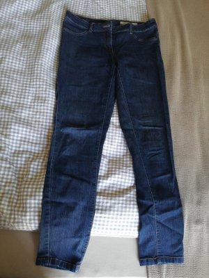 Blue Motion Jeansy o obcisłym kroju ciemnoniebieski Bawełna