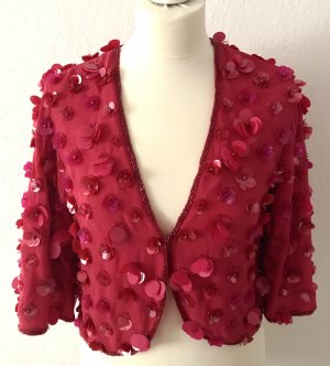 Miss Selfridge Bolero rosso lampone-magenta Poliestere