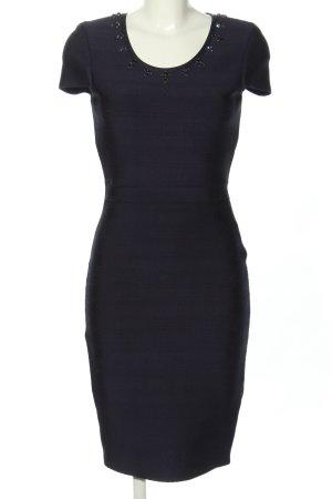Blugirl Blumarine Robe à manches courtes bleu style d'affaires