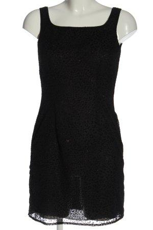 Blugirl Blumarine Mini-jurk zwart volledige print elegant