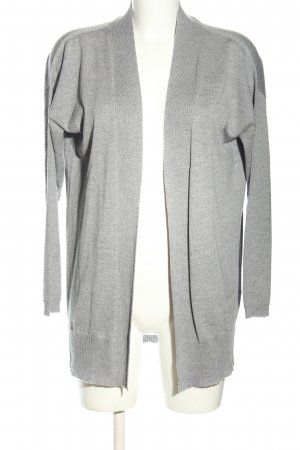 Blugirl Blumarine Cardigan tricotés gris clair moucheté style décontracté