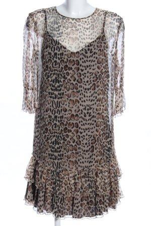 Blugirl Blumarine Tunic Dress leopard pattern casual look
