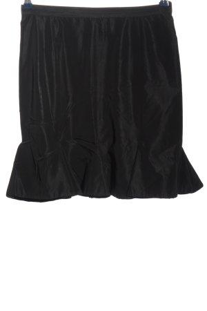 Blugirl Blumarine Spódnica z falbanami czarny W stylu casual