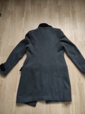 Blugirl Folies Cappotto invernale nero-argento