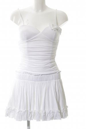 Blugirl Folies Mini Dress white party style