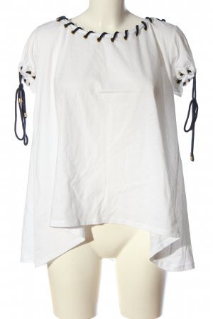 Blugirl Folies Oversized Blouse white casual look