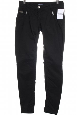 Blugirl Folies Stretch Trousers black casual look