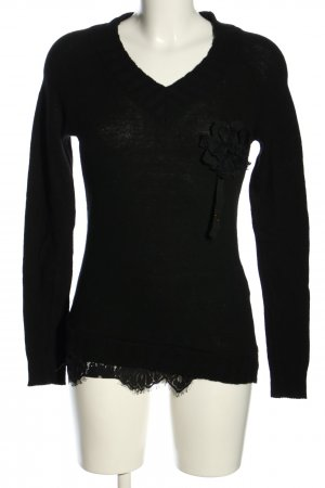 Blugirl Folies Knitted Sweater black casual look