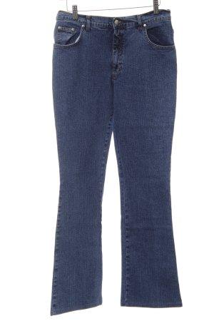 Blugirl Boot Cut Jeans blau Casual-Look