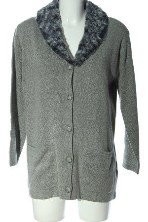 bluhm Cardigan gris clair style décontracté