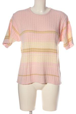 BLUHM COLLECTION Koszulka z dzianiny Wzór w paski W stylu casual