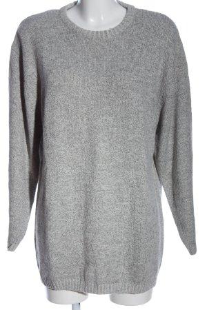 bluhm Crewneck Sweater light grey flecked casual look