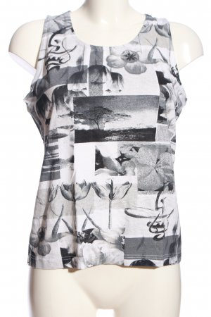 bluhm Basic Top allover print casual look