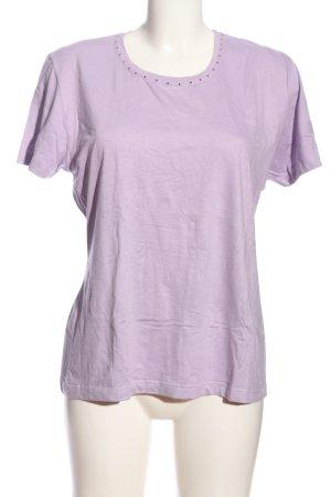bluhm T-shirt violet style décontracté