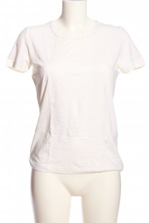 bluhm T-shirt blanc cassé style décontracté