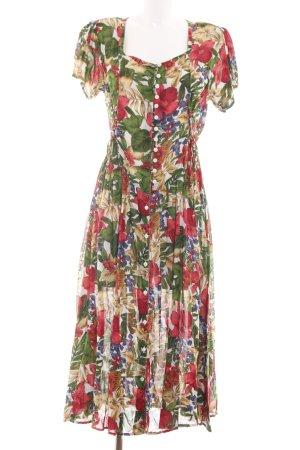 Bluhmod Vestido Hippie estampado floral elegante