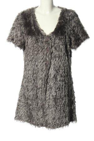 Bluhmod Fake Fur Jacket light grey casual look