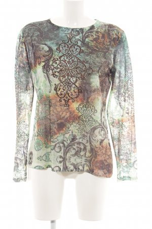Bluhmod Longsleeve abstract pattern casual look