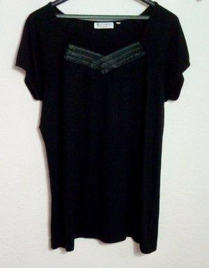 BLUHMOD Shirt Größe 44 Schwarz Stretch