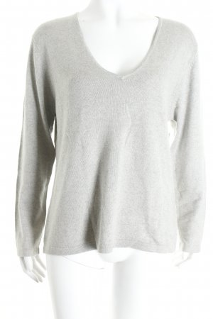 Bluhmod Knitted Sweater light grey flecked casual look
