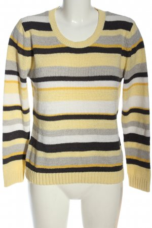 Bluhmod Knitted Sweater striped pattern casual look