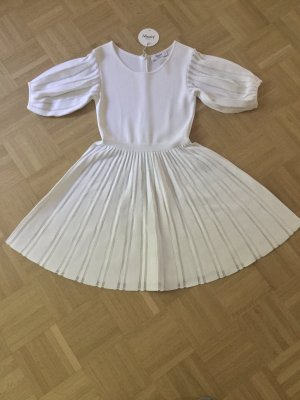 Blumarine Cocktail Dress white mixture fibre